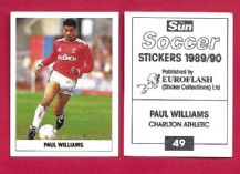 Charlton Athletic Paul Williams 49